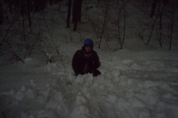Вгорах Сочи заблудился сноубордист