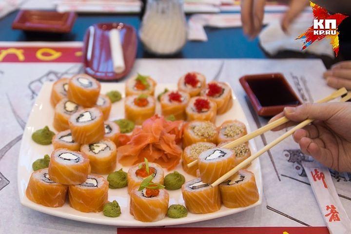 Векатеринбургской «Студии суши» выявлены многочисленные нарушения санэпидзаконодательства