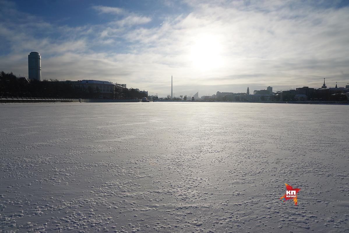 ВЕкатеринбурге прошла акция взащиту городского водоема