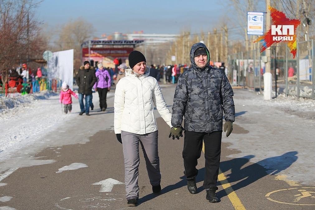 Праздничные выходные вКрасноярске будут по-весеннему теплыми