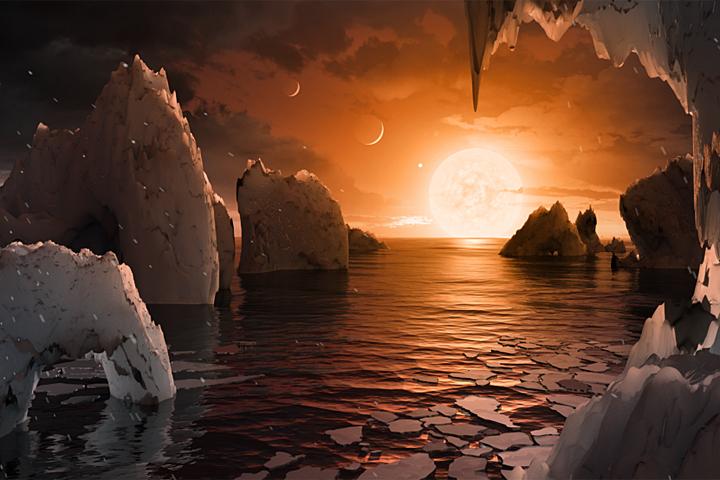 Новые приемлемые для жизни планеты. Открытие NASA за2 мин.