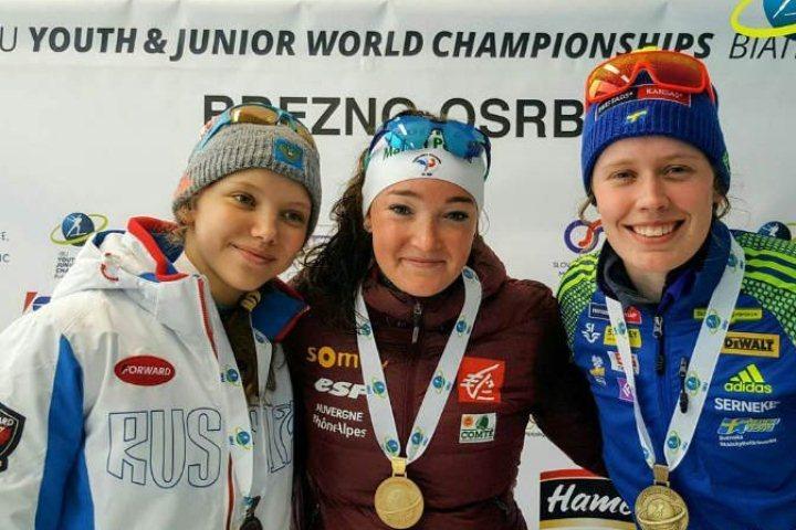 Россиянка стала серебряным призёром юношеского чемпионата мира побиатлону