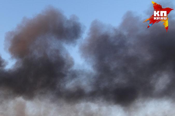 Напожаре наСвердлова вТюмени спасли троих детей