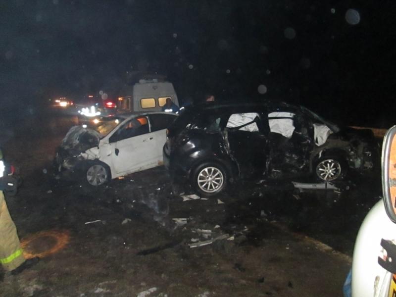 ВРостовском районе Ярославской области врезультате дорожно-траспортного происшествия пострадали 5 человек