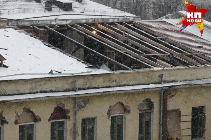 Генпрокуратура Омской области проведёт проверку из-за рухнувшей крыши вшколе