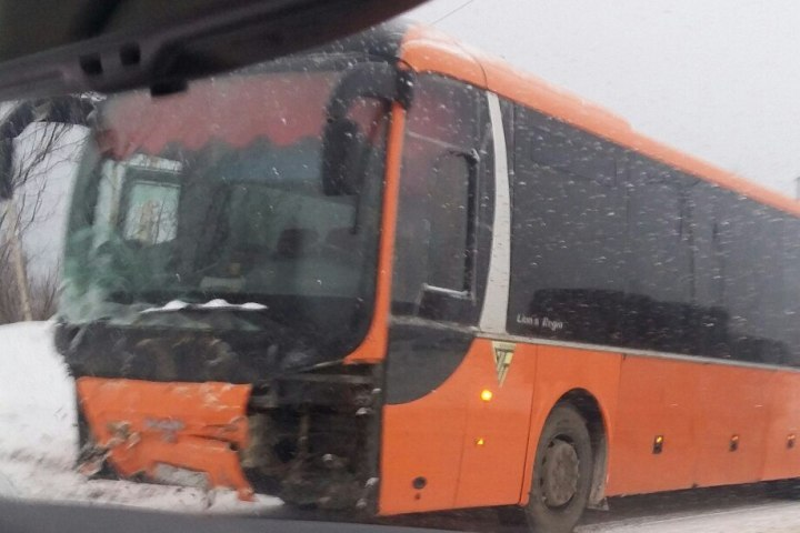 ВПермском крае вДТП савтобусом умер мужчина