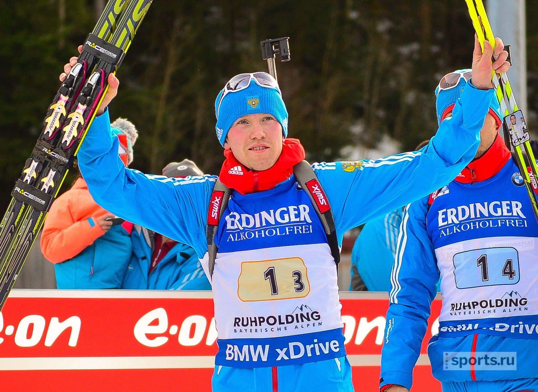 Руслан Ткаленко— третий вспринте наседьмом этапе Кубка IBU