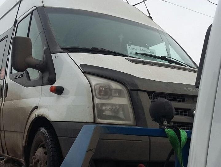 ВБашкирии схвачен нетрезвый шофёр зарулем междугородней маршрутки