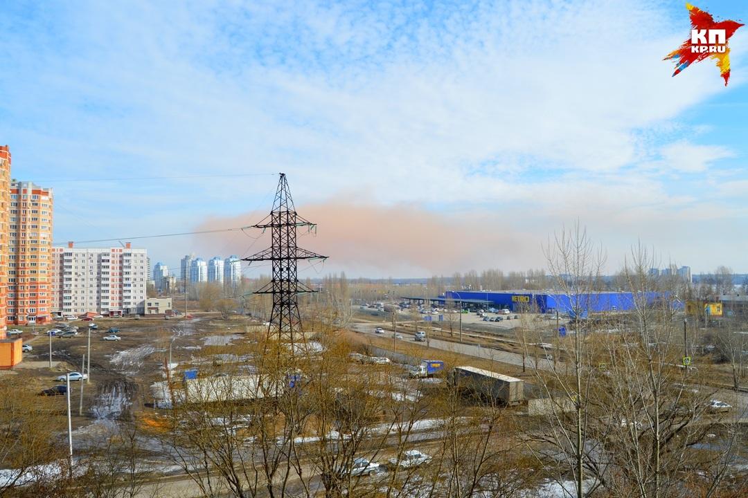 Комбинат вЛипецке разъяснил причину появления над городом апельсинового облака