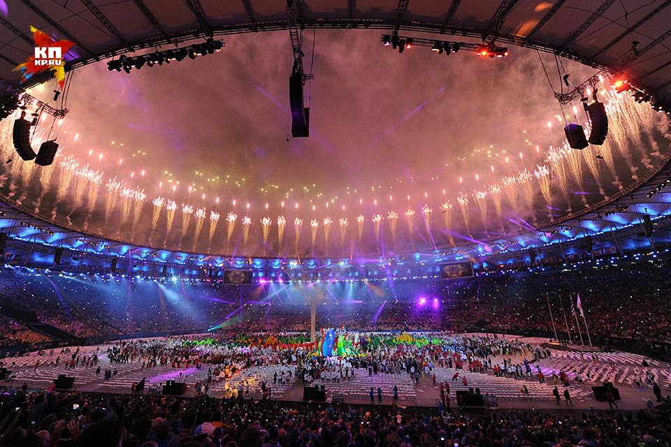 Церемония закрытия xxxi летних олимпийских игр
