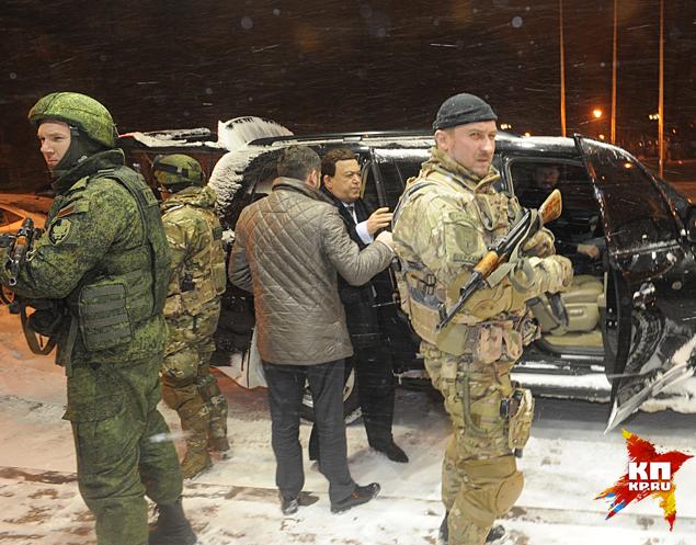 В среду, 30 декабря, завершилась командировка Иосифа Кобзона в борющиеся Луганск и Донецк Фото: Владимир ВЕЛЕНГУРИН