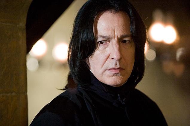 Но самую известную роль много работавший в театре и на ТВ Рикман сыграл в киносериале про Гарри Поттера Фото: кадр из фильма.