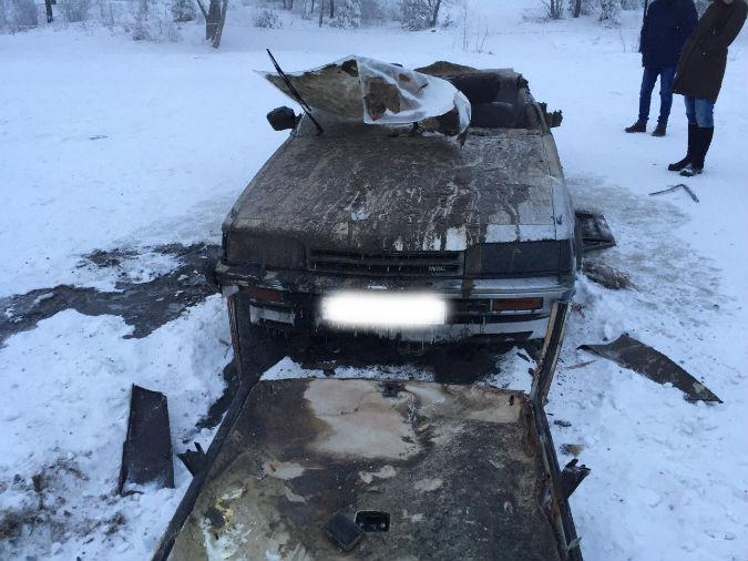 Красноярские следователи опубликовали фотографию автомобиля, найденного спустя 20 лет на дне Енисея. Фото: ГСУ СК России по Красноярскому краю