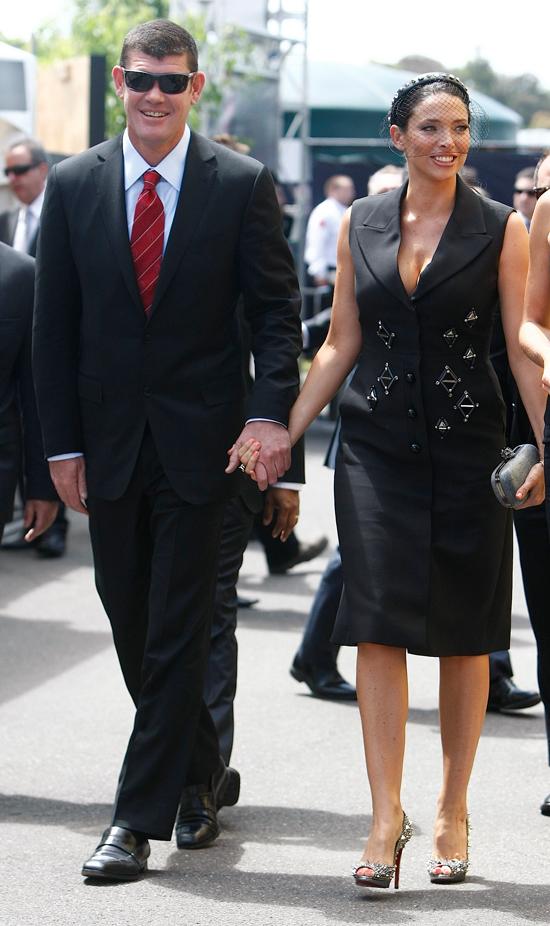 Пэкер с бывшей женой Эрикой. Фото: SPLASH NEWS