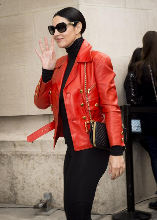 Облегающий наряд позволил ей продемонстрировать постройневшую фигуру. Фото: GLOBAL LOOK PRESS