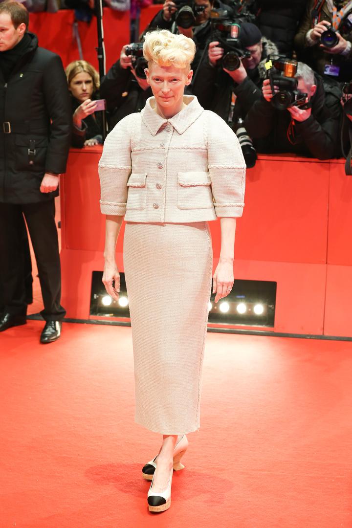 """...и Тильда Суинтон сыграли вместе с Клуни в комедии """"Да здравствует Цезарь!"""". Фото: SPLASH NEWS"""