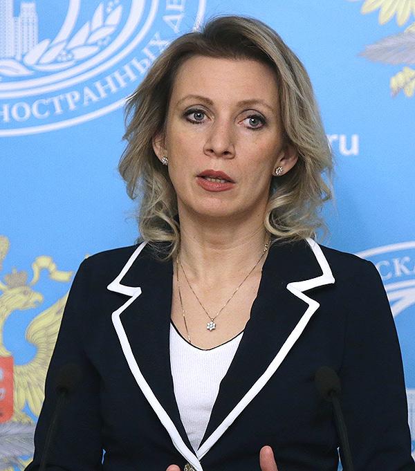 Мария Захарова. Артем Геодакян/ТАСС