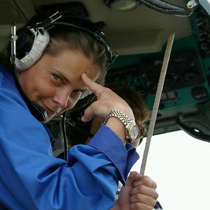 Елена Прокофьева - мастер спорта международного класса, трехкратная чемпионка мира по вертолетному спорту. Фото: из личного архива героя публикации
