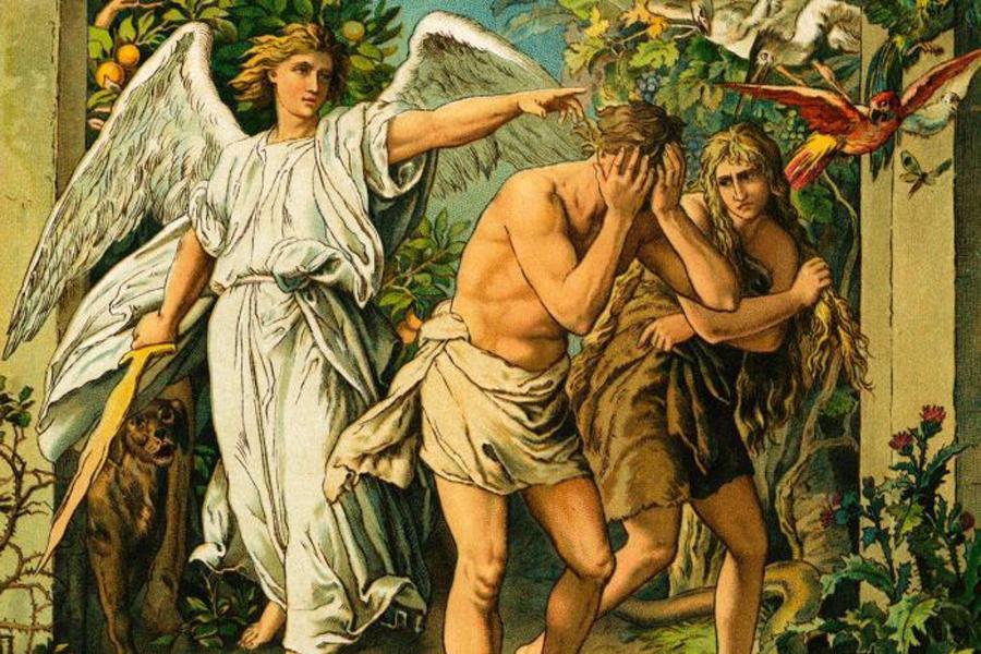 Ох, уж этот сатана! Сначала под видом змея соблазнил Еву вкусить запретный плод с древа познания добра и зла. За что Господь разгневался на Адама и его легкомысленную супругу, выгнал их из Эдема