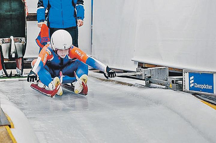 На соревнованиях по санному спорту многое напоминало об Олимпиаде-2014. Фото: junior-sport.su