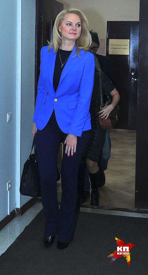 Татьяна Голикова раскрыла секрет своей прекрасной формы. Фото: Евгения ГУСЕВА