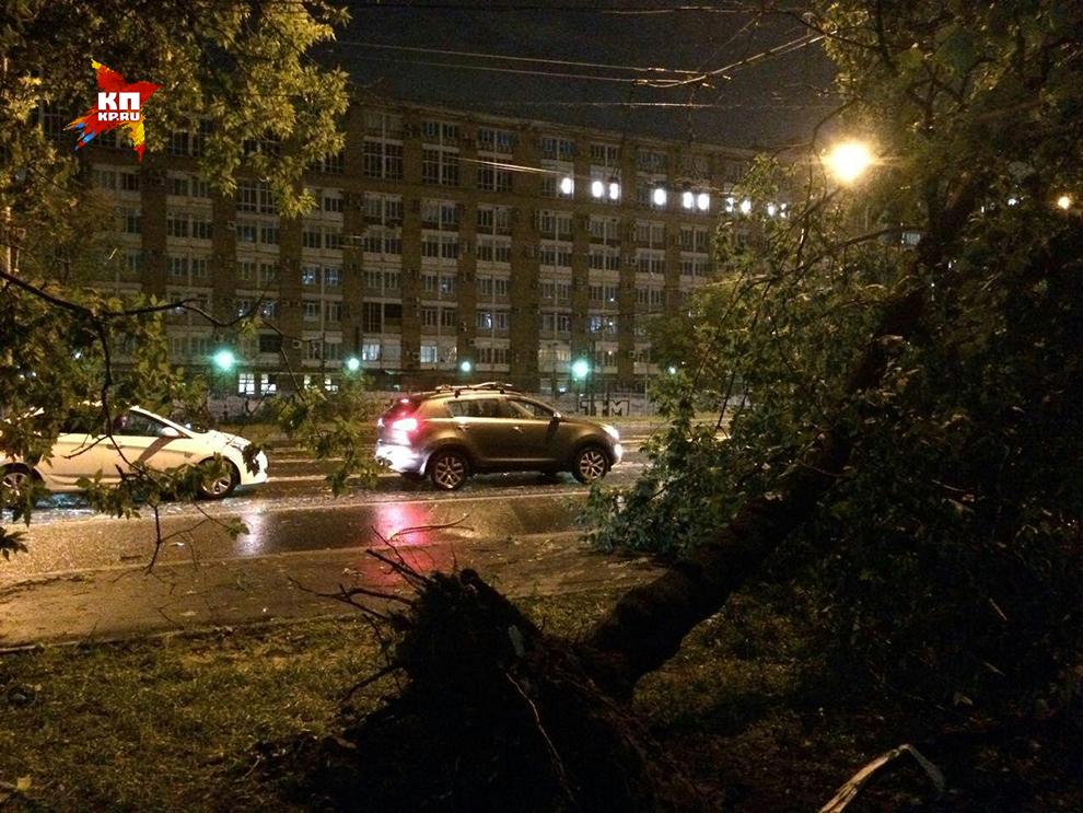 Гроза, бушевавшая в российской столице иПодмосковье, убила 22-летнего мужчину