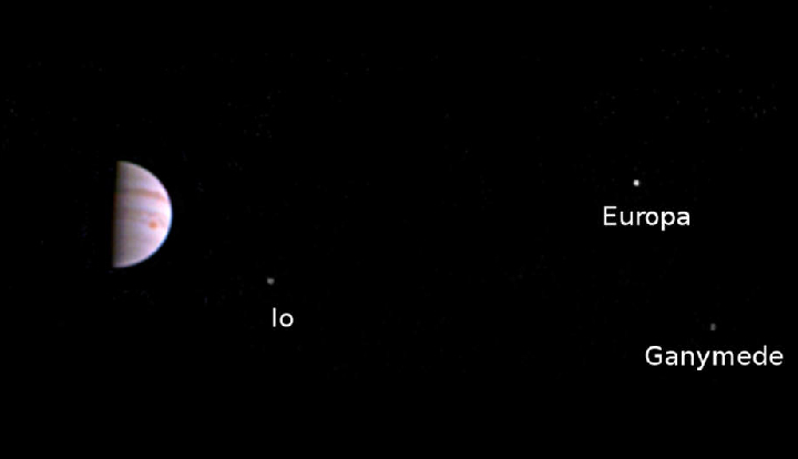 Юпитер исследуют не только земляне