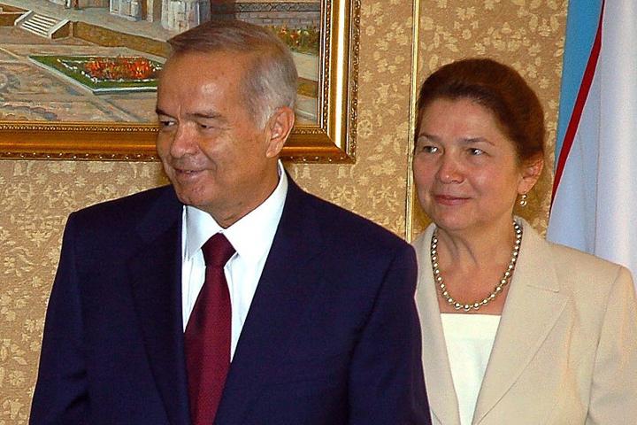 Ислам Каримов с супругой Татьяной в 2004 году. ФОТО ASSOCIATED PRESS/FOTOLINK