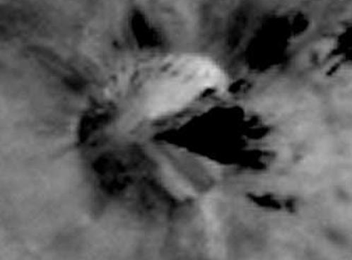 """Более крупное изображение """"тарелки"""" с сайта НАСА"""