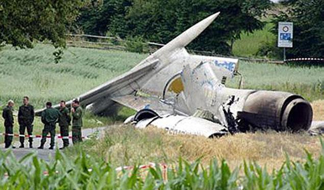 ТУ-154, на котором летели дети из Башкирии, развалился в воздухе