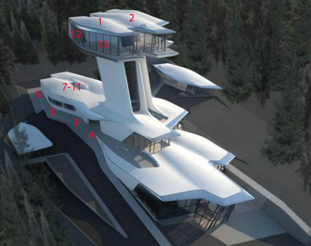 Особняк станет одним из самых дорогих домов на Рублевке.