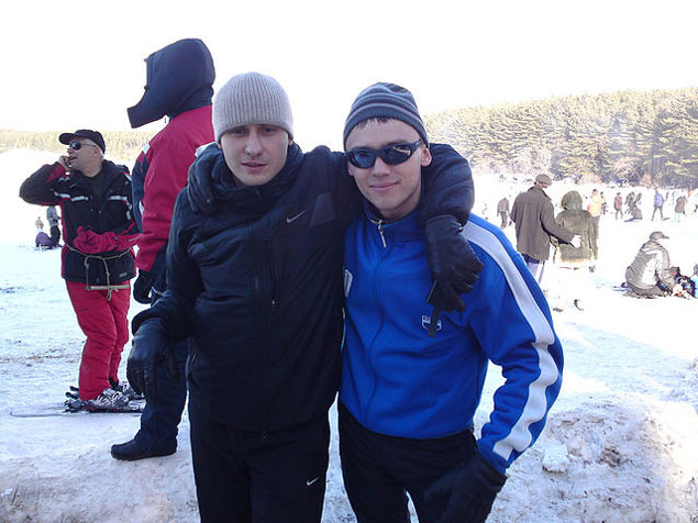 Денис Бураков любил ездить в горы вместе с друзьями.