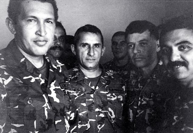 Уго Чавес в тюрьме, когда был арестован за попытку переворота (1992 год) Фото: REUTERS