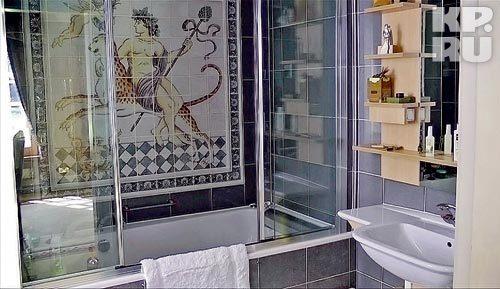 В этой ванной оборвалась жизнь великого комбинатора.