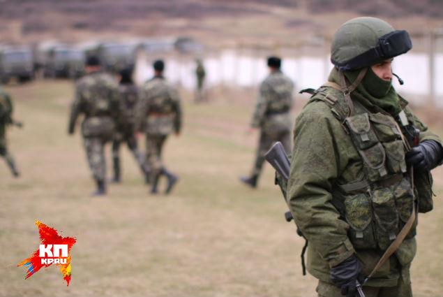 Командование бригады прошло на переговоры Фото: Александр КОЦ
