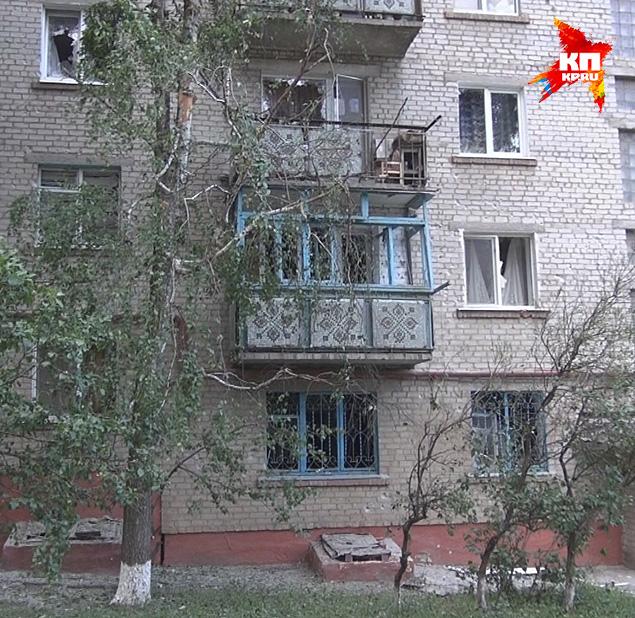 В понедельник около 19 часов (20 часов по мск) боевики обрушили мины на жилой микрорайон Артема