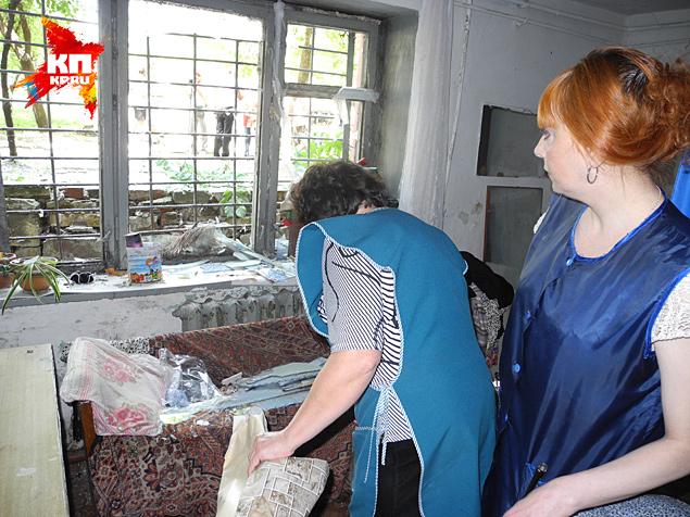 В среду украинские войска снова бомбили Славянск