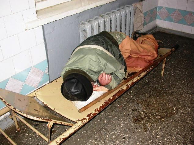 Последний приют наркомана Фото: Николай ВАРСЕГОВ