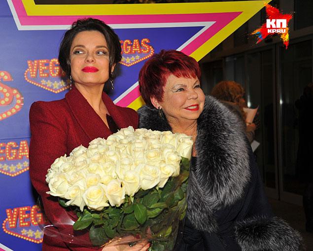 Наташа Королева с мамой Фото: Евгения ГУСЕВА