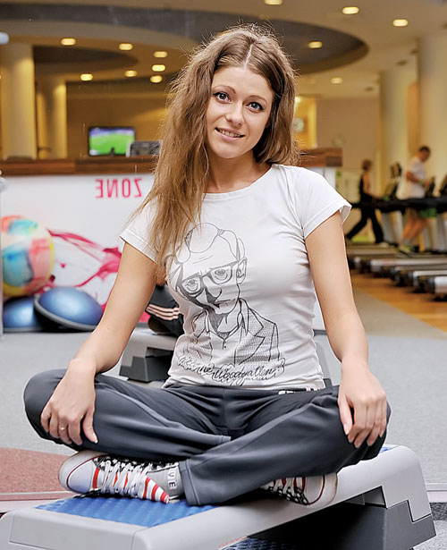 Антонина Комиссарова ради роли научилась кататься на коньках и опробовала сноуборд. Фото: Михаил ФРОЛОВ