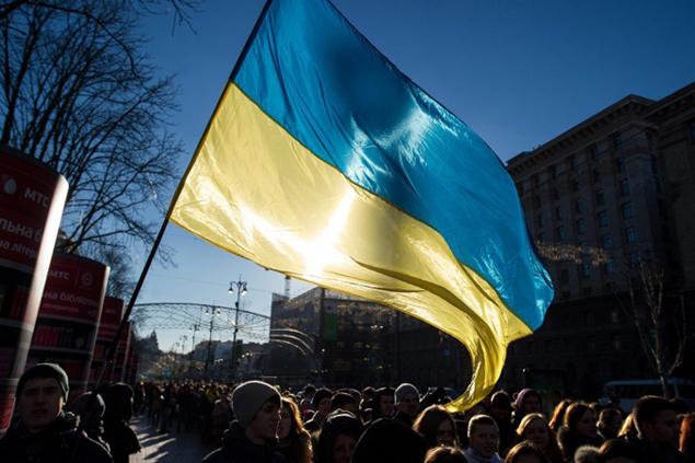 29 ноября 2013 года участники Евромайдана приняли резолюцию с требованием отставки Януковича. Фото: ТАСС