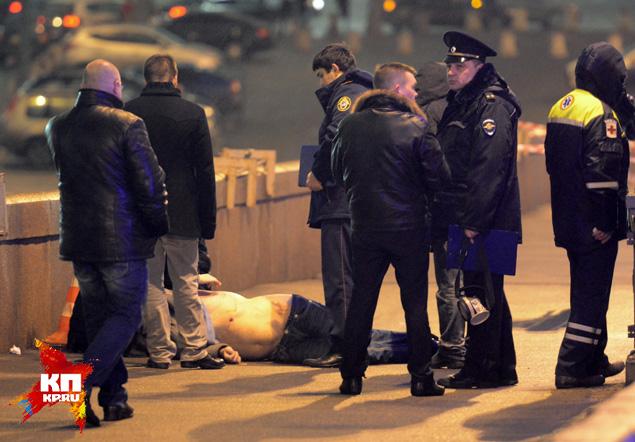 Националисты и бандиты не брезгуют ничем. Убить своего союзника для них - не вопрос морали. Немцов стал разменной монетой Фото: РИА Новости