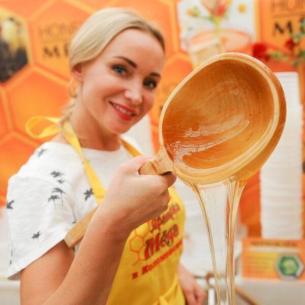 Ярмарка меда в Коломенском