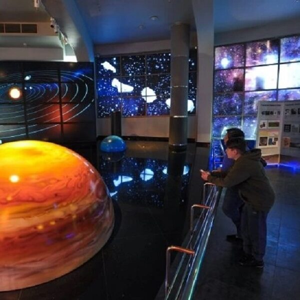 8 марта в Московском планетарии