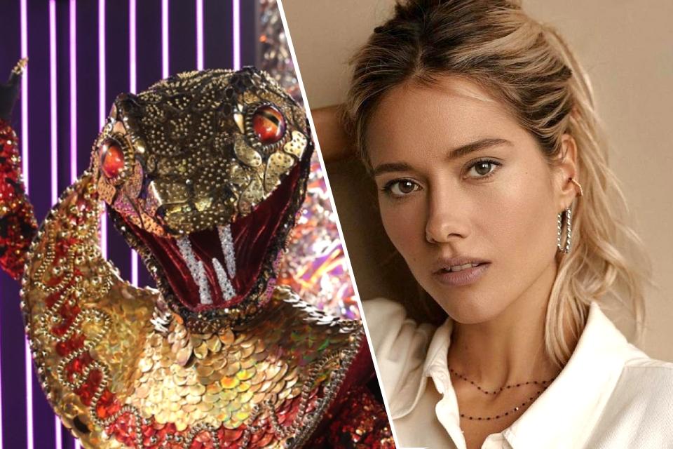Змея в шоу «Маска-2021»: правда ли, что это Юлия Паршута