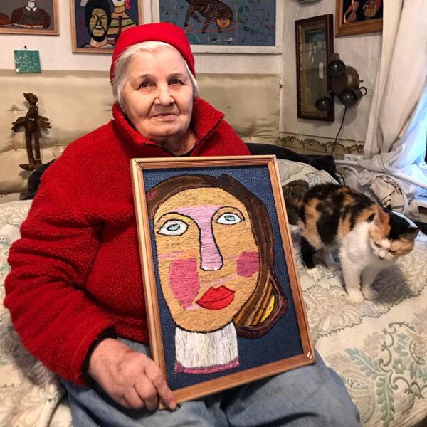Выставка Юлии Алешичевой «Девушка из 1938 года: Вышивка длиною в жизнь»