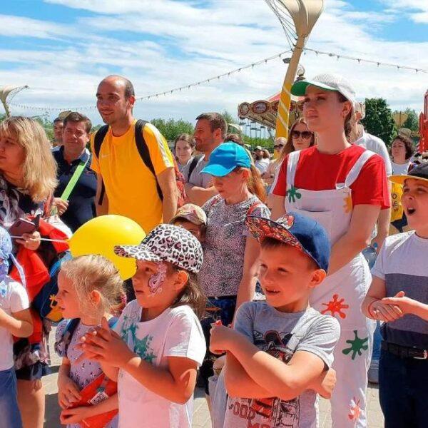 День защиты детей в парке Сказка