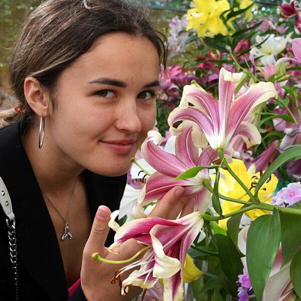 Выставка цветов в Биомузее