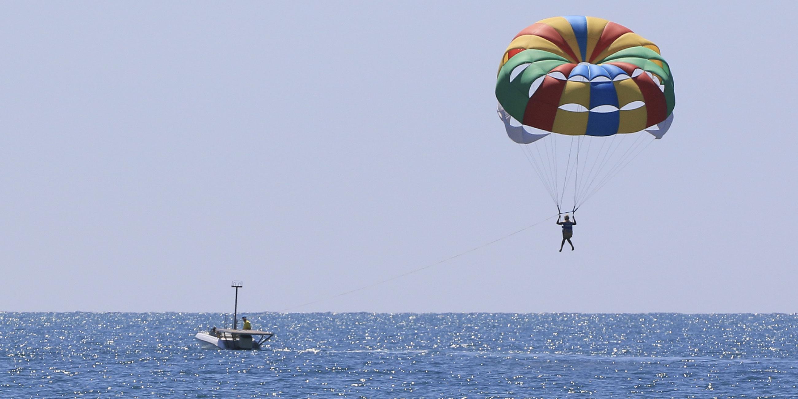 На пляже в Витязево есть экстремальные водные развлеченияФото: Олег Укладов/