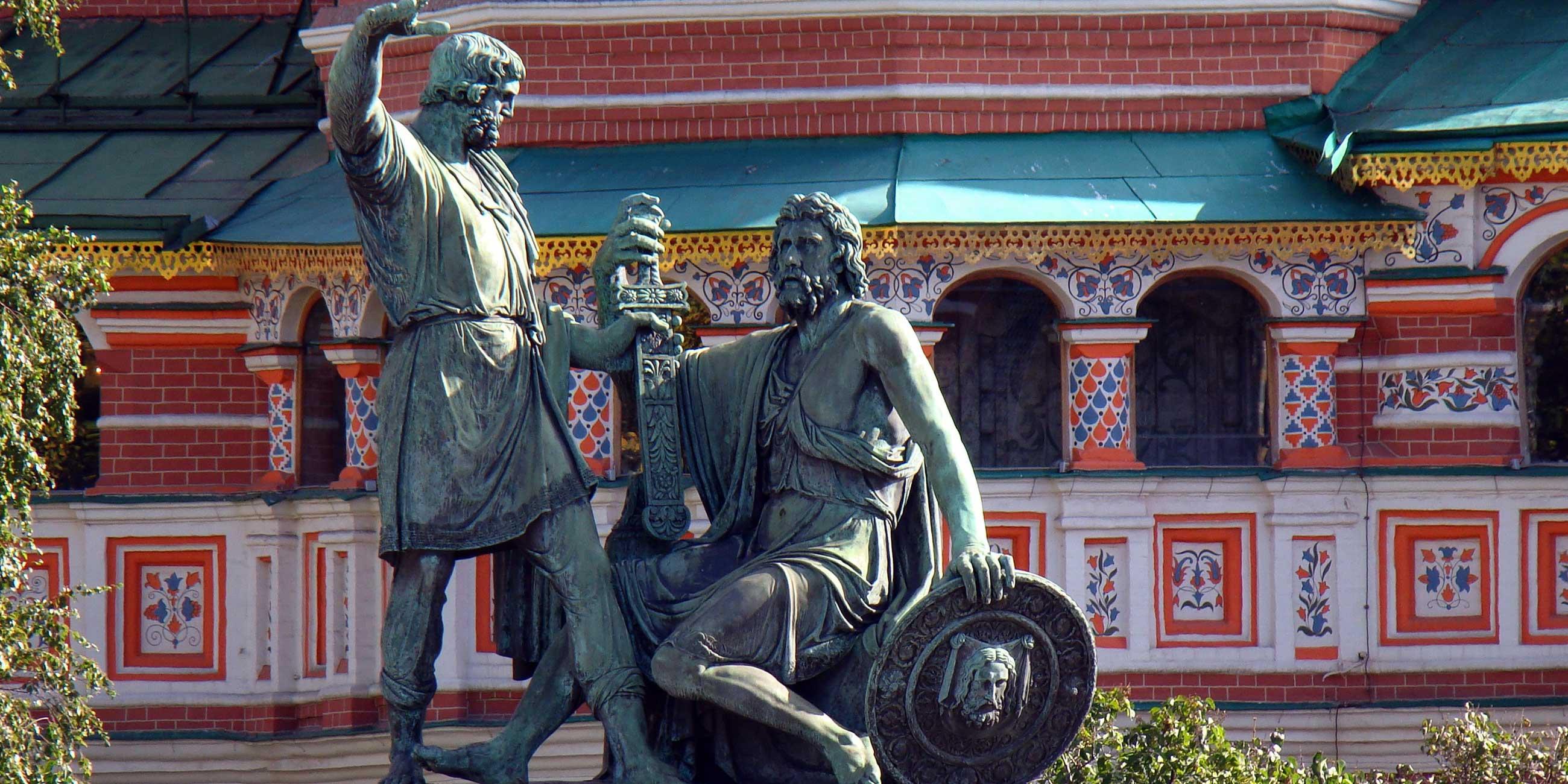 В 1818 году на Красной площади установили памятник Минину и Пожарскому, героям Отечественной войны 1812 года.Фото: pixabay.com